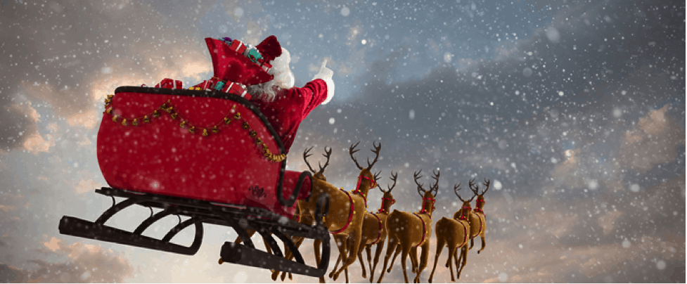 Santa Clause Is Coming To Town – As Are We!