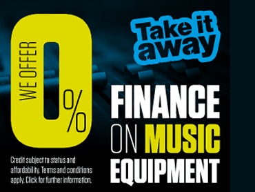 Take it away: find out about finance on music equipment