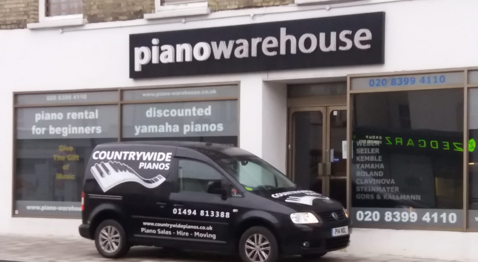 Countrywide Pianos at Piano Warehouse